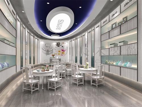 展厅由于是室内的,长期固定的,所以不应单单要求设计上现代,时尚,前卫
